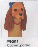 Cockier Spaniel 3d windsock