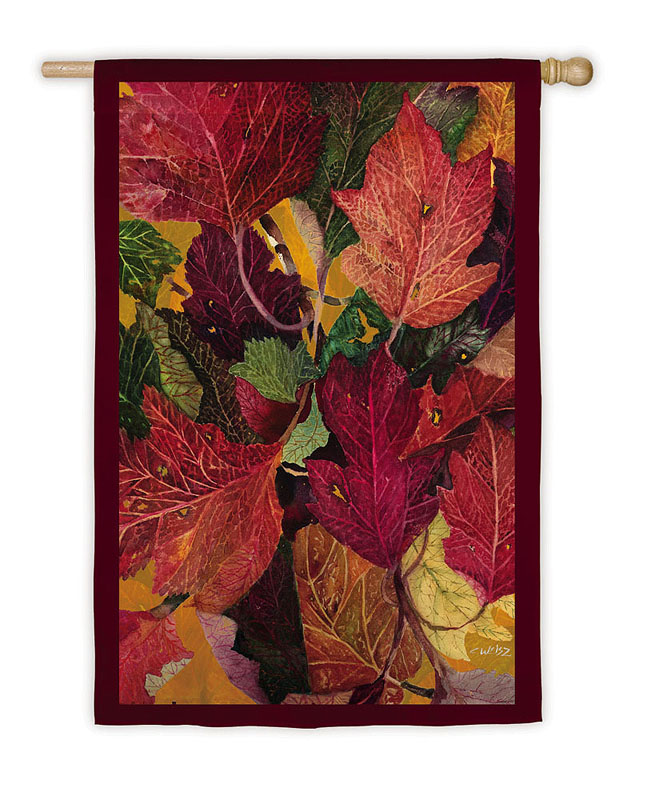 Colorfull Fall Leaves Banner