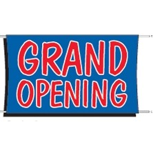 Grand Opening Banner 3 ft x 5 ft