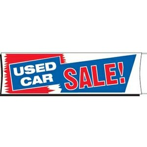 Used Car sale Banner 3 ft x 10 ft