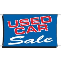 Used Car sale Banner 3 ft x 5 ft