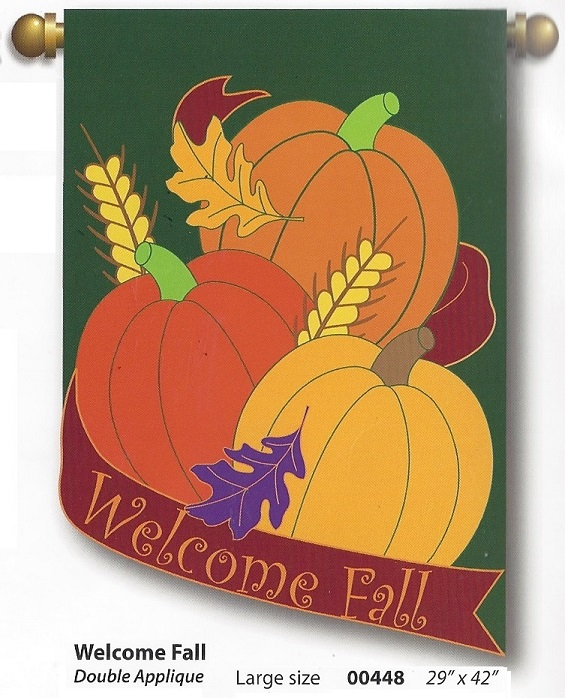 Welcome Fall Banner