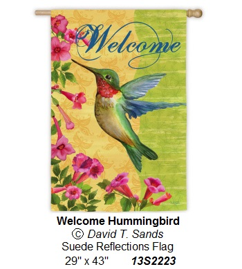 Welcome Hummingbird
